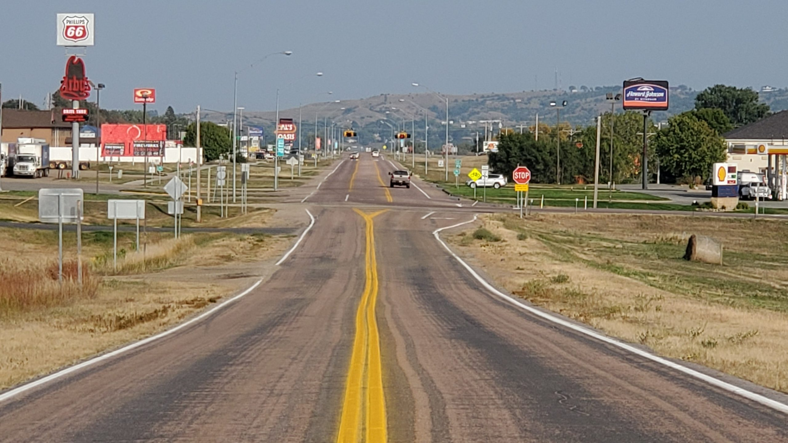 Highway 16 Businesses in Oacoma