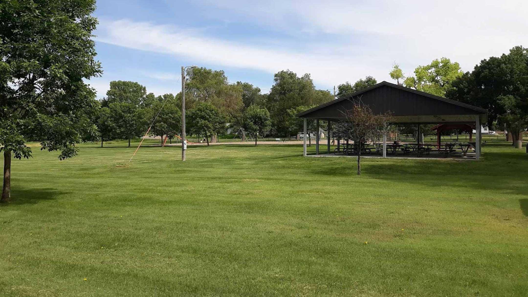 Park in Oacoma South Dakota