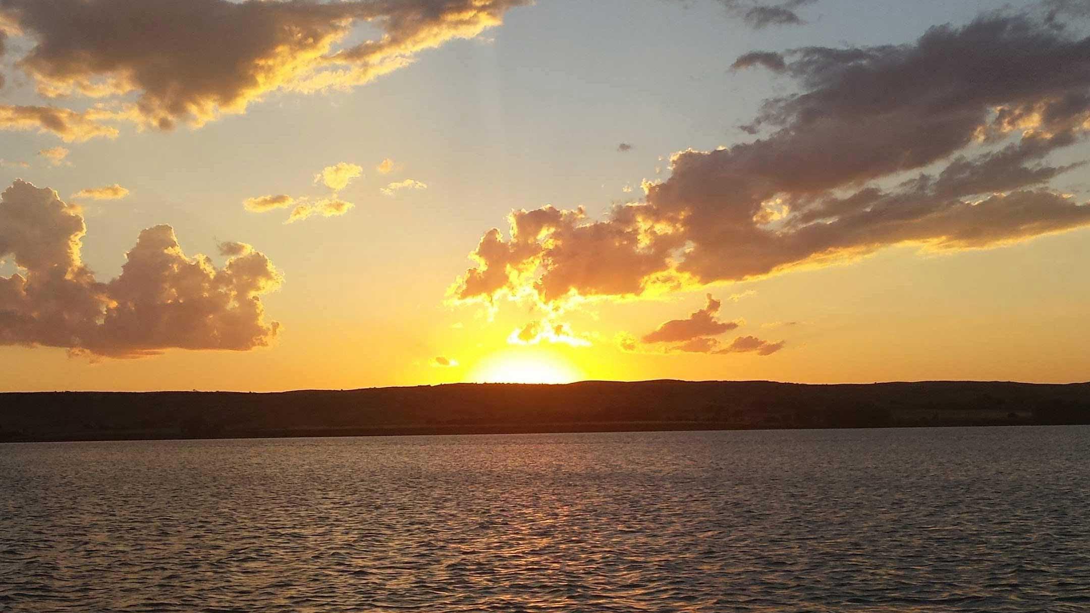 Sunset in Oacoma South Dakota